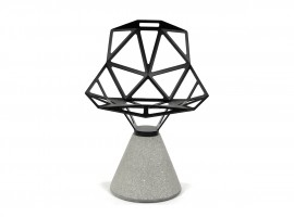 chair-one-concrete-base-black